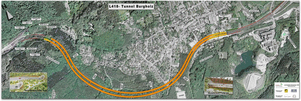Burgholz tunnel